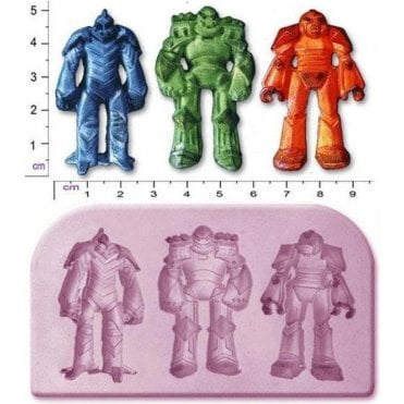 Transformer Robots - Cake Decorating Silicone Mould