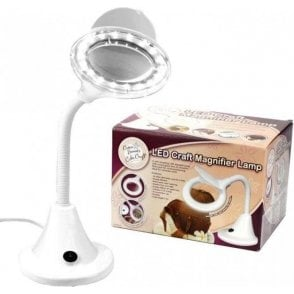 Cake Craft LED Craft Compact Flexi Magnifier Lamp
