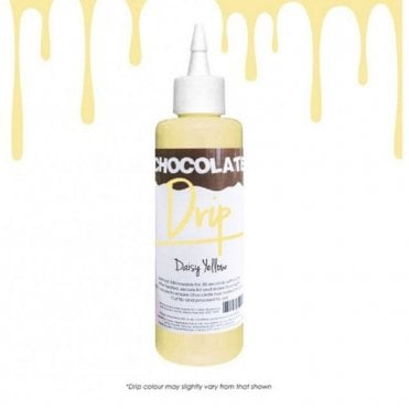 DAISY YELLOW 'Absolutely Delicious' Chocolate Icing For Drip Cakes 250g