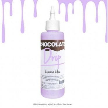 LUSCIOUS LILAC 'Absolutely Delicious' Chocolate Icing For Drip Cakes 250g