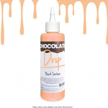 PEACH SORBET 'Absolutely Delicious' Chocolate Icing For Drip Cakes 250g