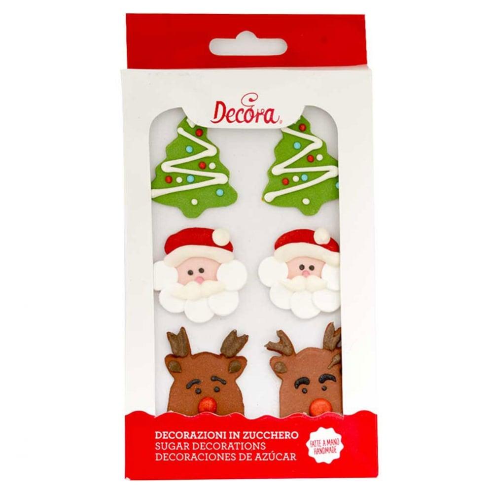 Christmas Royal Icing Edible Sugar Decorations