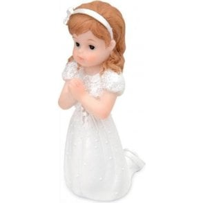 Holy Communion Kneeling Girl