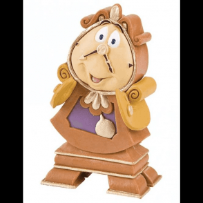 Cogsworth, Beauty and the Beast Topper 10cm