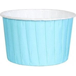 Blue Baking Cups / Cupcake Cases - 24 per pack