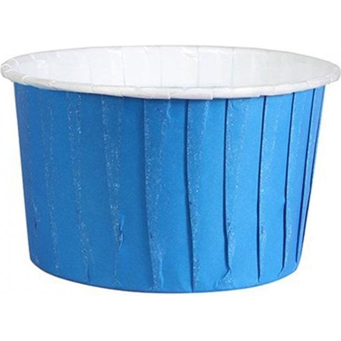 Culpitt Blue Baking Cups / Cupcake Cases - 24 per pack