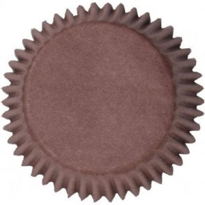 Brown Baking Cupcake Case - Pack of 50