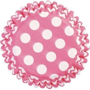 Cerise Spot Baking Cupcake Case - Pack of 54