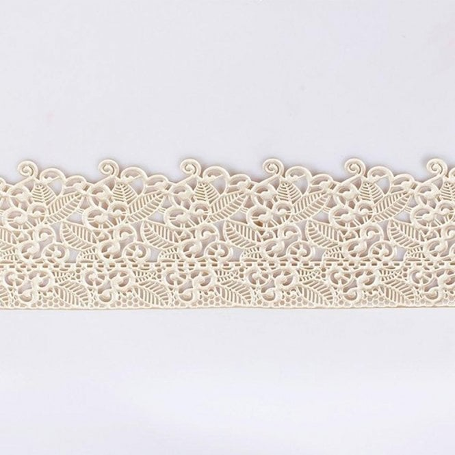 Culpitt Edible Floral Cake Lace - Pearl