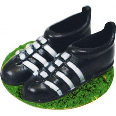 Football Boot Pair Cake Topper