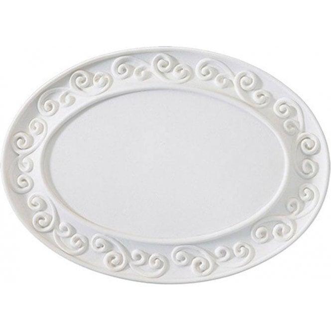 Culpitt Gumpaste Scroll Plaque - White