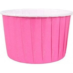 Hot Pink Baking Cups / Cupcake Cases - 24 per pack