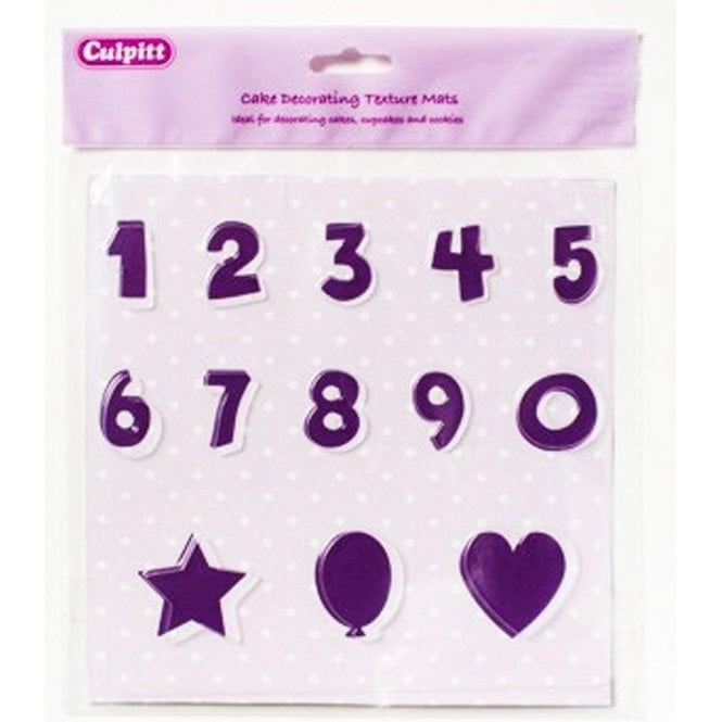 Numbers Shapes Texture Mat