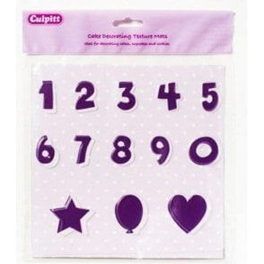 Numbers & Shapes Texture Mat
