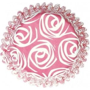 Petal Roses Baking Cupcake Case - Pack of 54