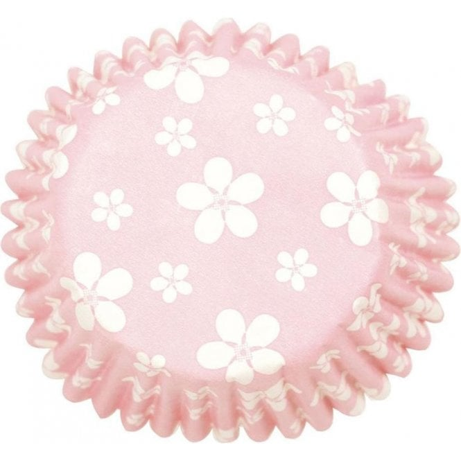 Culpitt Pink Blossom Baking Cupcake Case - Pack of 54