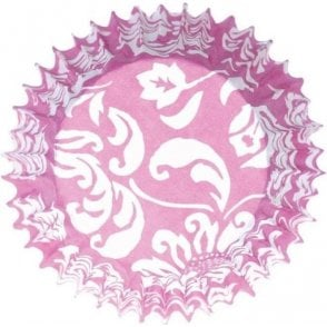 Pink Elegance Baking Cupcake Case - Pack of 54