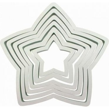 PME Star Cutter - Set of 6