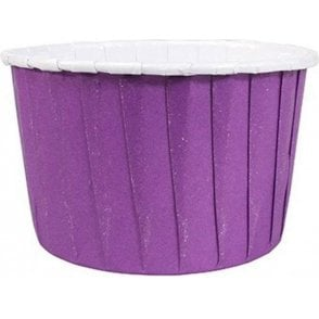 Purple Baking Cups / Cupcake Cases - 24 per pack
