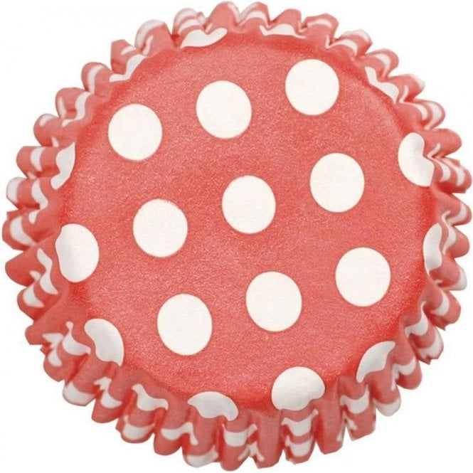 Culpitt Red Spot Baking Cupcake Case - Pack of 54