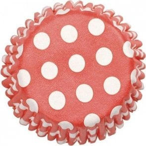 Red Spot Baking Cupcake Case - Pack of 54