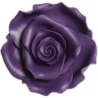 Soft Sugar™ Purple Handmade Edible Roses Range - Choose Your Sizes