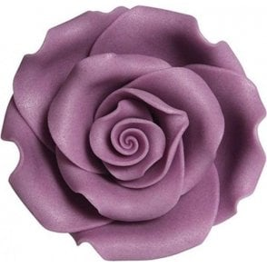 Soft Sugar™ Violet Handmade Edible Roses Range - Choose Your Sizes
