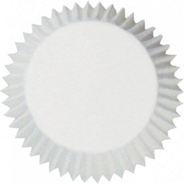 White Baking Cupcake Case - Pack of 54