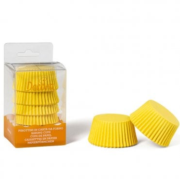 Yellow Cupcake Baking Cups Pack of 75