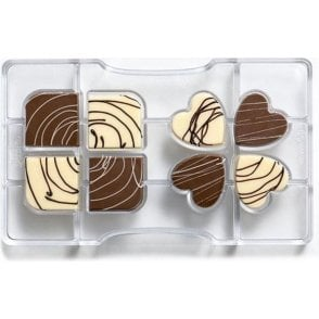 Four-Leaves Clover Chocolate Mould