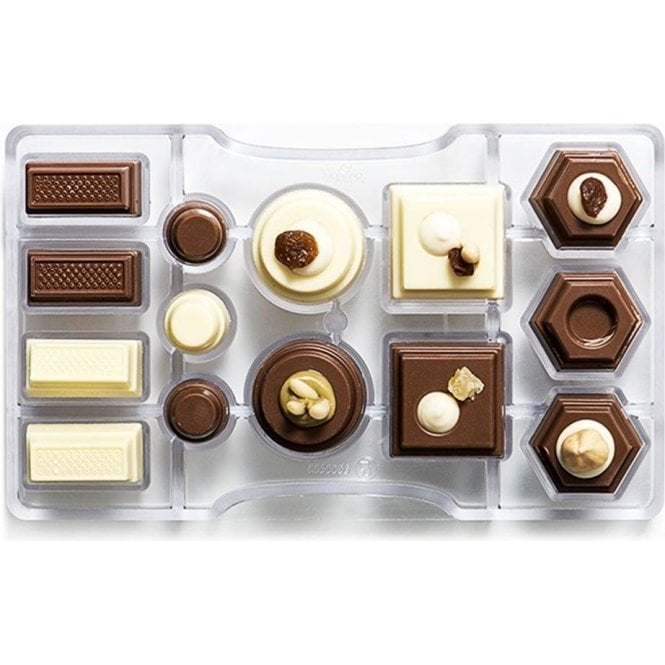 Decora Geometric Chocolate Mould