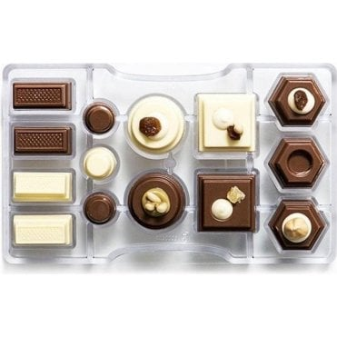 Geometric Chocolate Mould
