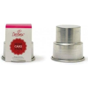Mini 2 Tier Wedding Cake Tin Pan