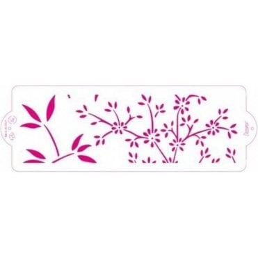 Nature - Cake Decorating Stencil 10 x 30cm