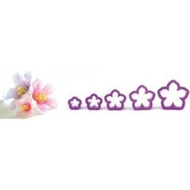 Petunia Flower Cutter Kit - Set of 5