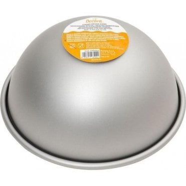 Premium Anodised Hemisphere Ball Cake Baking Tin - Choose Your Size