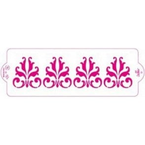 Retro - Cake Decorating Stencil 10 x 30cm