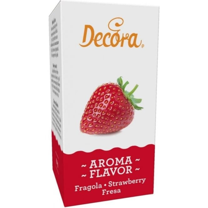 Decora Strawberry Flavouring 60g