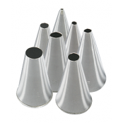 Round Piping Nozzles