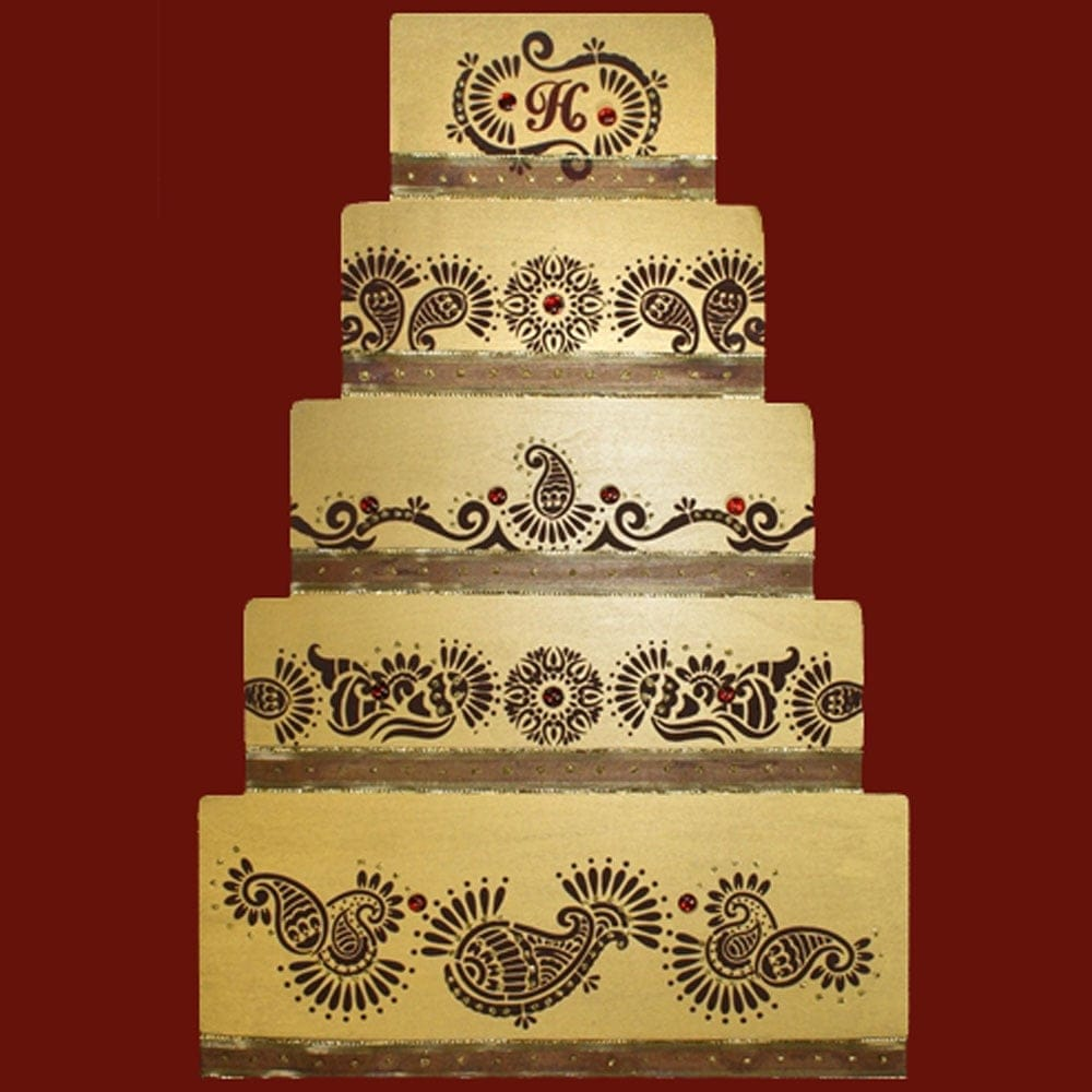 Cake Decorating Stencils Uk : Mehndi Cake Decorating Stencil by Designer Stencils
