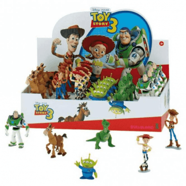 36 PCS Full Assortment Box, Toy Story Toppers