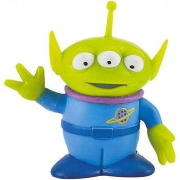 Alien (the little 3 eyed green man), Toy Story Topper 10cm