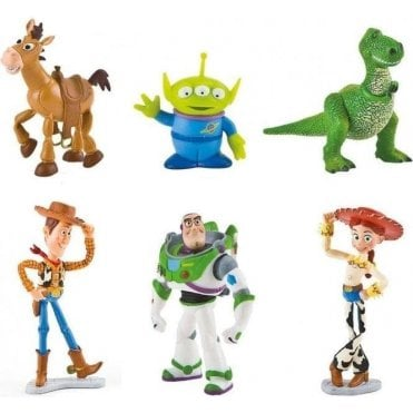 FULL SET OF ALL CHARACTERS, Toy Story Toppers