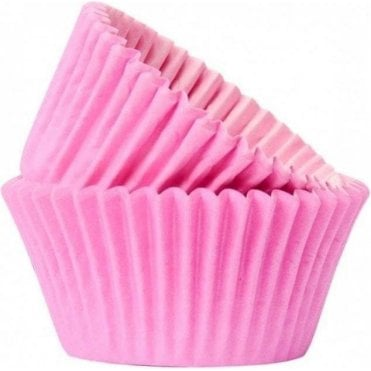 Pink 50 Muffin Cases -Professional Quality Baking Cases