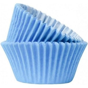 Sky Blue 50 Muffin Cases- Professional Quality Baking Cases