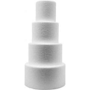 "Free P/&P 10/"" Square Straight Edge Cake Dummy 3/"" High"