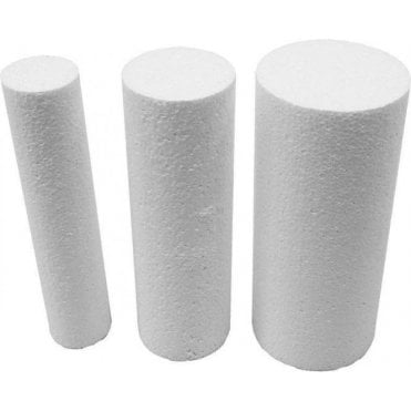 "9"" Deep Round Column/Pillar Cake Dummies"