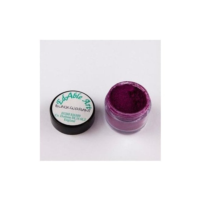 Edable Art Blackcurrant - Lustre Dusting Colour