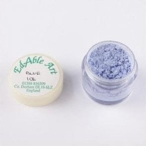 Blue Ice Shimmering Lustre Dusting Colour 100% Edible