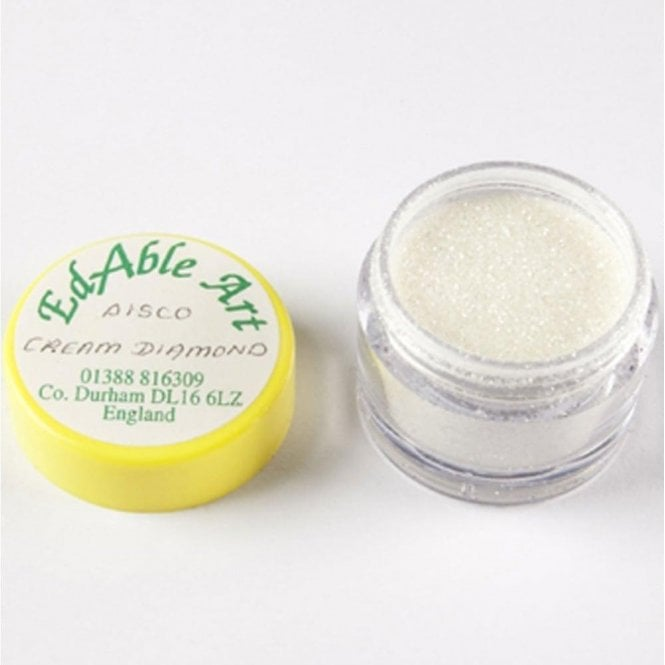 Edable Art Cream Diamond - Disco Decorating Glitter